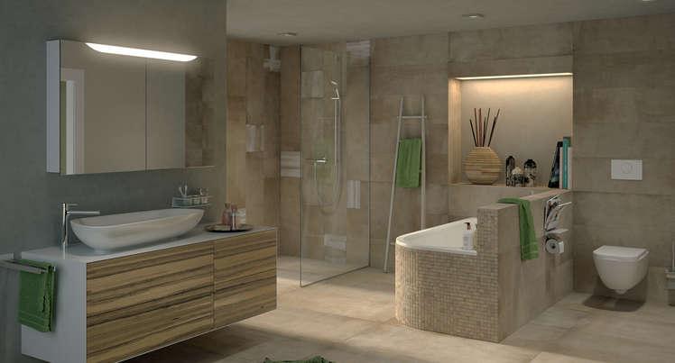 badezimmer platten. Black Bedroom Furniture Sets. Home Design Ideas